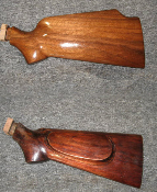 Martini single shot rifle stocks