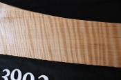 Maple gunstock blank