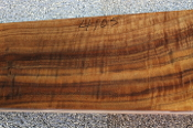 Fancy Walnut Gunstock Blank