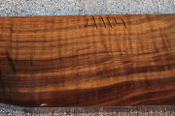 Fiddleback Walnut Gunstock Blank